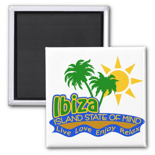 Ibiza State of Mind magnet