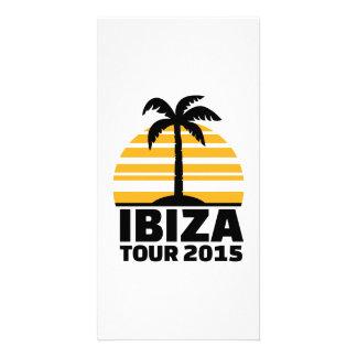 Ibiza Tour 2015 Customized Photo Card