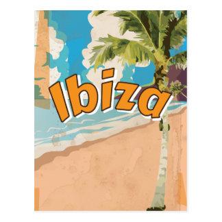 Ibiza Vintage vacation Poster Postcard