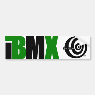 iBMX bumper sticker