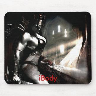 iBODY Gladiator Princess- Diana Tyuleneva Mousepad