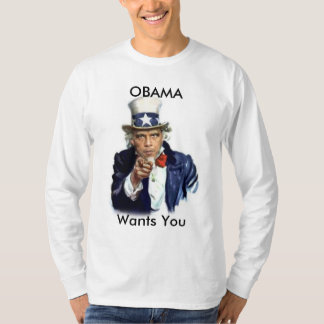 iBODY Obama Wants You Long Sleeve T-Shirt