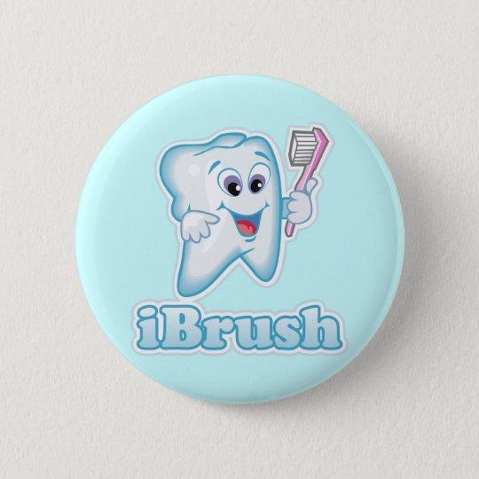 iBrush 6 Cm Round Badge
