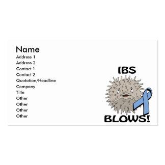 IBS Blows Awareness Design Business Card Templates