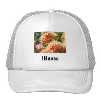 iBunco Ladies Hats Bunco Club Games Flowers
