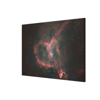IC1805, The Heart Nebula Canvas Print