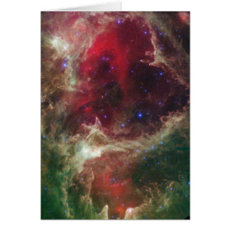 IC 1848 Soul Nebula star forming Card