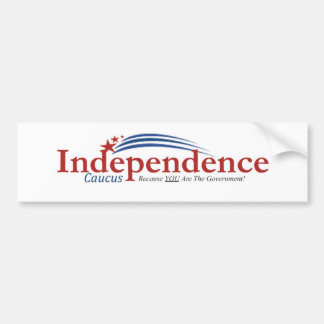 IC logo Bumper Sticker