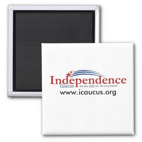 IC logo, www.icaucus.org Square Magnet