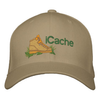 iCache Geocacher Embroidered Baseball Caps