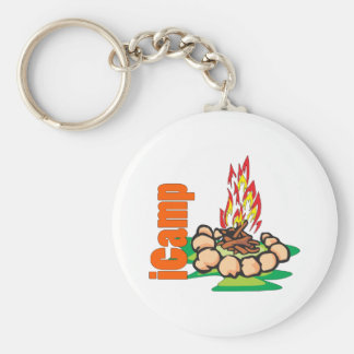iCamp Camping Shirt Keychain