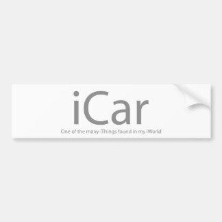 iCar Car Bumper Sticker