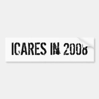 ICARES in 2008 Bumper Sticker