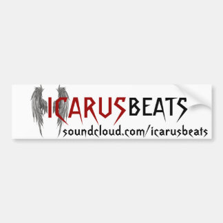 Icarus Beats bumper sticker