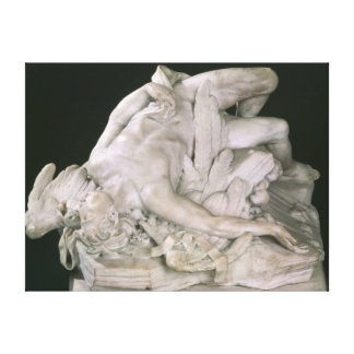 Icarus Falling, 1743 Canvas Print