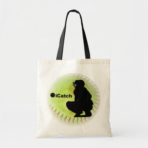 iCatch Fastpitch Softball Tote Bags