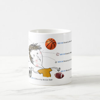 ICD-10: W21 Struck by Balls Coffee Mug
