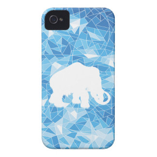 Ice Age Blue Crystal Mammoth Case-Mate iPhone 4 Cases