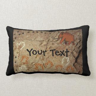 Ice Age Cave Art Lumbar Cushion