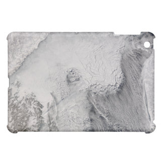 Ice and cloud streets in the Sea of Okhotsk iPad Mini Covers