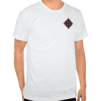 Ice and Fire Vine Pattern Tees