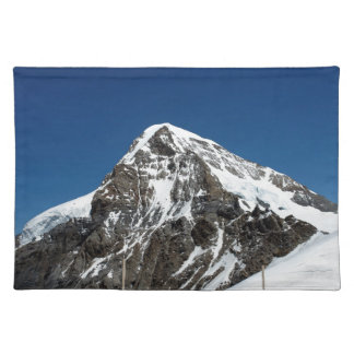 Ice and snow in the Swiss Alps Placemat