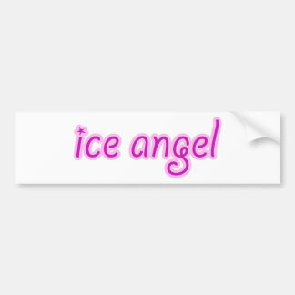 Ice Angel Bumper Sticker