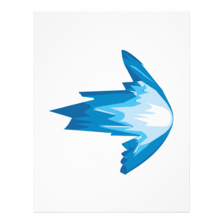 Ice Arrow Right Custom Flyer