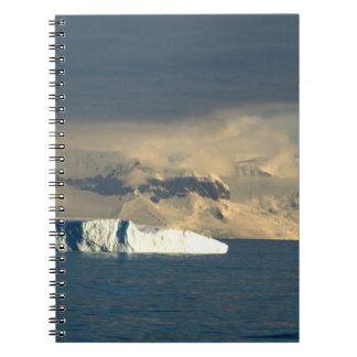 Ice Berg in the starts of the Drake Passage just Notebook