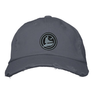 Ice Blades Embroidered Baseball Caps
