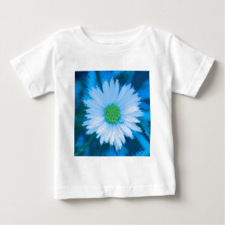 Ice Blue Flower Baby T-Shirt
