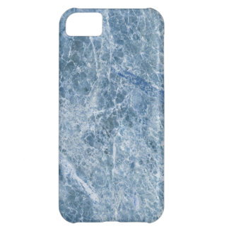Ice Blue Marble Texture iPhone 5C Case