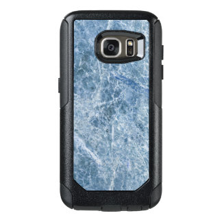 Ice Blue Marble Texture OtterBox Samsung Galaxy S7 Case