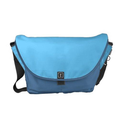 Ice Blue Messenger Bag