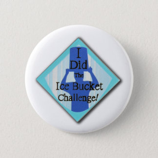 Ice Bucket Challenge 6 Cm Round Badge
