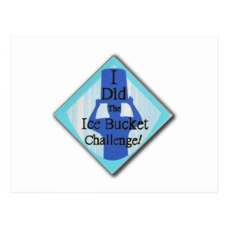 Ice Bucket Challenge Postcard