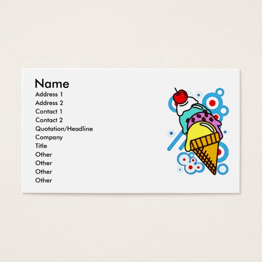 ICE BUSINESS CARD