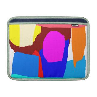 Ice Candy Stick Amusement Park Float MacBook Sleeve