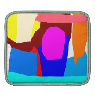 Ice Candy Stick Amusement Park Float iPad Sleeves