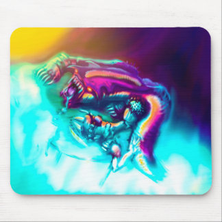 Ice Cave Creature Mouse Pad