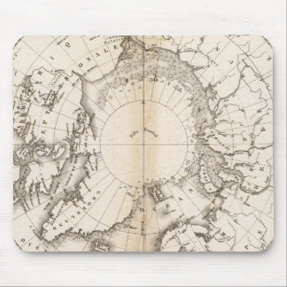 Ice Chart boreal Mouse Pad