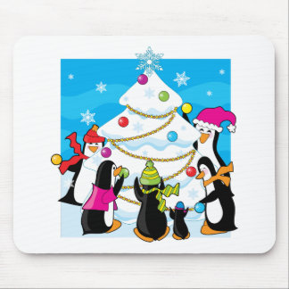 Ice Christmas Mouse Mats