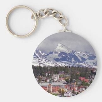 Ice City Keychain