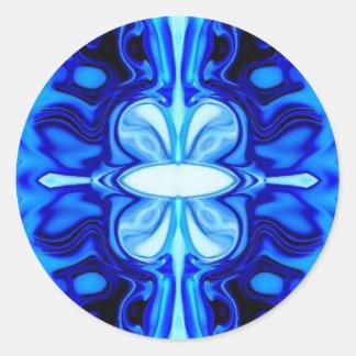 Ice Classic Round Sticker