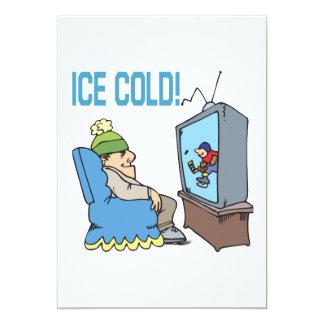 Ice Cold 13 Cm X 18 Cm Invitation Card
