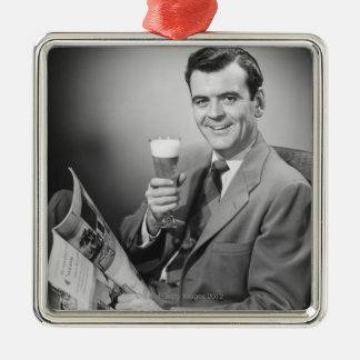 Ice Cold Beer Christmas Ornament