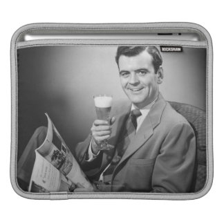 Ice Cold Beer iPad Sleeve