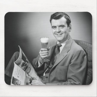 Ice Cold Beer Mouse Mat