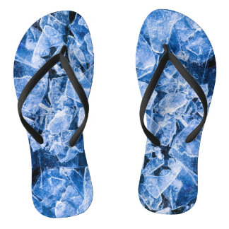 Ice cold cool flip flops
