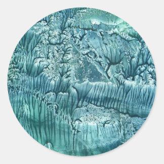 Ice Cold Round Sticker